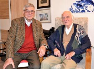 Ein Beispiel für ein Geschwisterpaar, das sich als Team sieht: Manfred (l.)  und Bernhard  Stollenwerk. (Foto: EF)