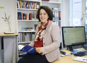 Katrin Brockmöller hat den Bibliolog für sich entdeckt - und begeistert nun andere dafür. (Foto: H.Rudel)